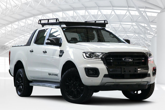 Used Ford Ranger PX MkIII MY19 Wildtrak 2.0 (4x4), 2019 Ford Ranger PX MkIII MY19 Wildtrak 2.0 (4x4) White 10 Speed Automatic Double Cab Pickup