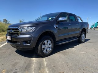 2019 Ford Ranger PX MkIII 2019.75MY XLT Pick-up Double Cab Meteor Grey 10 Speed Sports Automatic