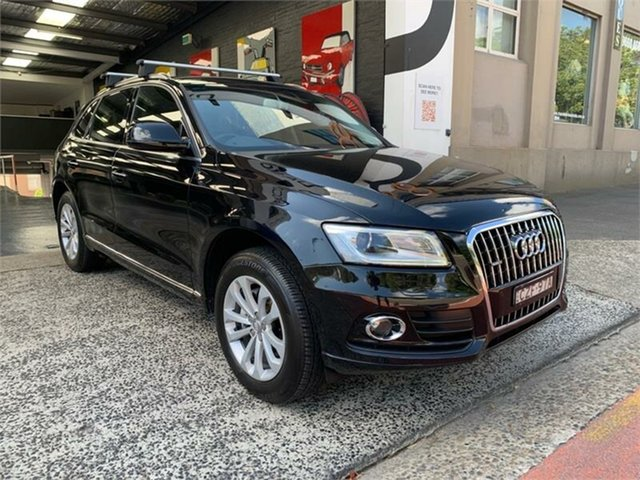 Used Audi Q5 8R TFSI, 2015 Audi Q5 8R TFSI Black Sports Automatic Wagon