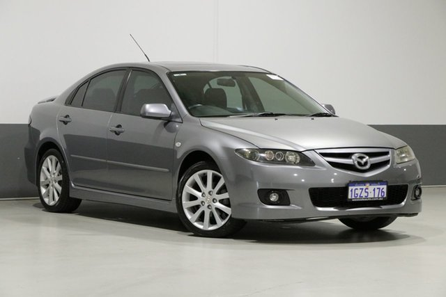 Used Mazda 6 GG 05 Upgrade Limited, 2006 Mazda 6 GG 05 Upgrade Limited Grey 6 Speed Manual Sedan