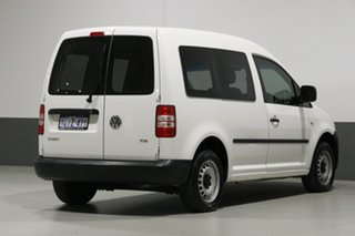 2013 Volkswagen Caddy 2K MY13 TDI250 White 7 Speed Auto Direct Shift Van