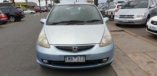 2005 Honda Jazz GD MY05 VTi Blue 5 Speed Manual Hatchback.