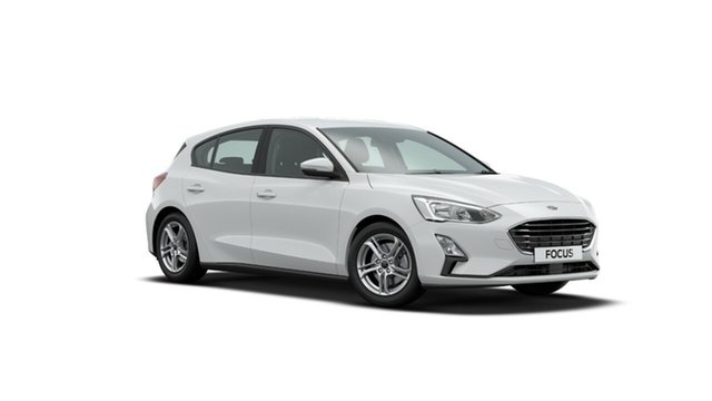 New Ford Focus SA 2020.25MY Trend, 2020 Ford Focus SA 2020.25MY Trend Frozen White 8 Speed Automatic Hatchback