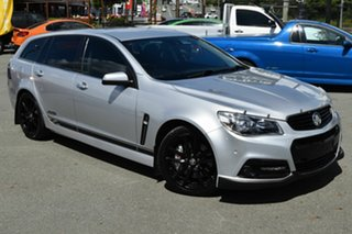 2013 Holden Commodore VF SS-V Redline Silver 6 Speed Automatic Sportswagon.