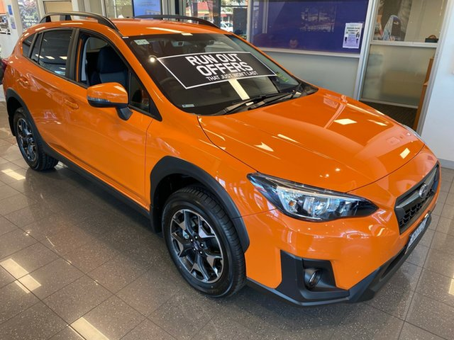 Demo Subaru XV G5X MY20 2.0i-L Lineartronic AWD, 2020 Subaru XV G5X MY20 2.0i-L Lineartronic AWD Sunshine Orange 7 Speed Constant Variable Wagon