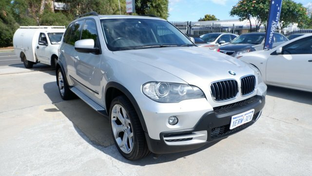 Used BMW X5 E70 si Steptronic, 2008 BMW X5 E70 si Steptronic Silver 6 Speed Sports Automatic Wagon