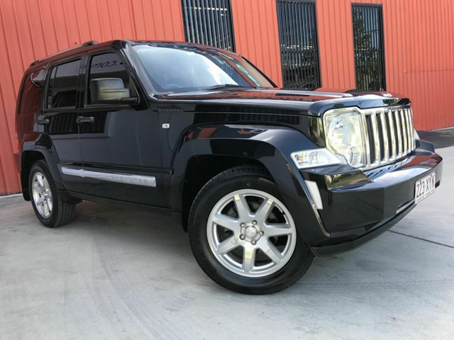 Used Jeep Cherokee KK MY12 Limited, 2012 Jeep Cherokee KK MY12 Limited Black 4 Speed Automatic Wagon