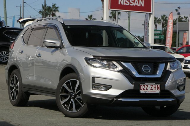 Demo Nissan X-Trail T32 Series II N-TREK X-tronic 2WD, 2019 Nissan X-Trail T32 Series II N-TREK X-tronic 2WD Brilliant Silver 7 Speed Constant Variable
