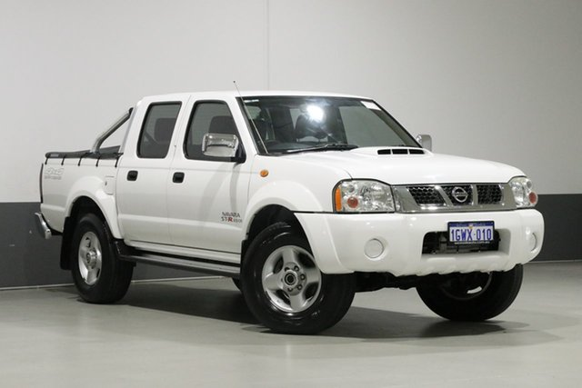 Used Nissan Navara D22 Series 5 ST-R (4x4), 2012 Nissan Navara D22 Series 5 ST-R (4x4) White 5 Speed Manual Dual Cab Pick-up