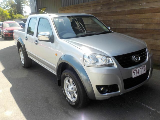 Used Great Wall V200 K2 MY14 4x2, 2014 Great Wall V200 K2 MY14 4x2 Silver 6 Speed Manual Utility