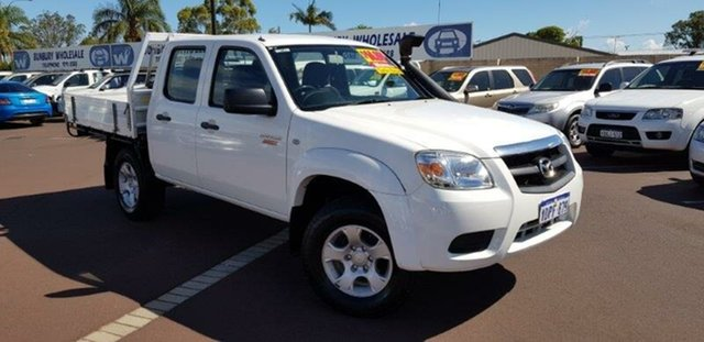 Used Mazda BT-50 UNY0E4 DX, 2010 Mazda BT-50 UNY0E4 DX White 5 Speed Manual Cab Chassis