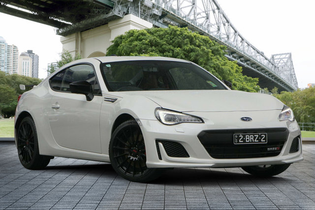Demo Subaru BRZ Z1 MY20 TS, 2019 Subaru BRZ Z1 MY20 TS White Crystal 6 Speed Manual Coupe