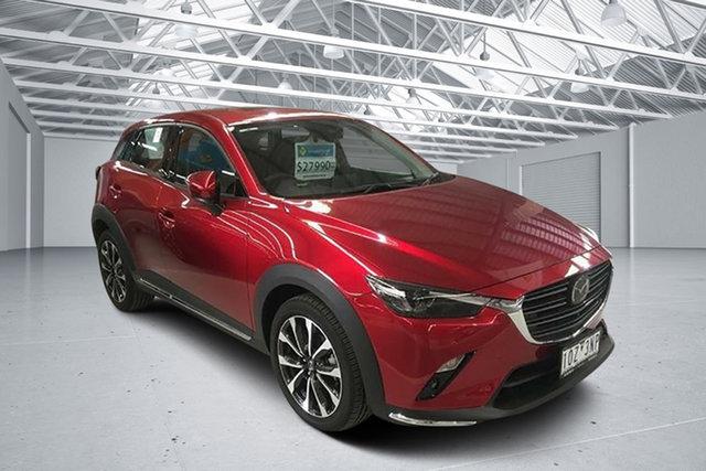 Used Mazda CX-3 DK MY19 Akari (FWD), 2019 Mazda CX-3 DK MY19 Akari (FWD) Soul Red Crystal 6 Speed Automatic Wagon