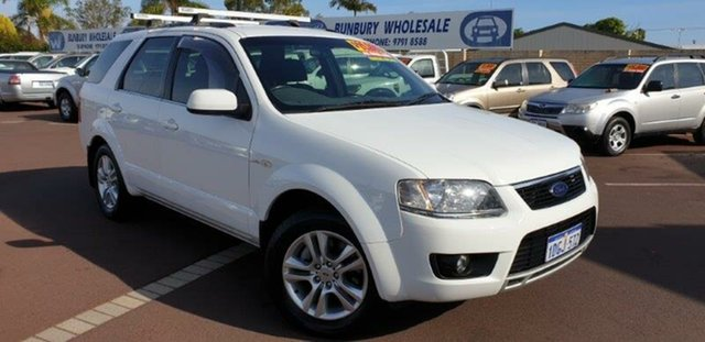 Used Ford Territory SY MkII TS AWD, 2010 Ford Territory SY MkII TS AWD White 6 Speed Sports Automatic Wagon