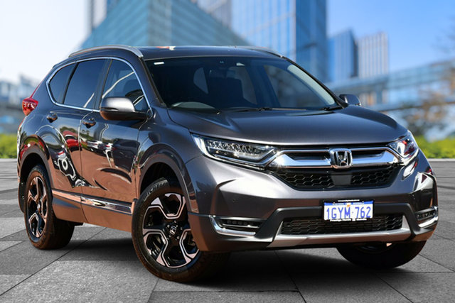 Demo Honda CR-V RW MY20 VTi-LX 4WD, 2019 Honda CR-V RW MY20 VTi-LX 4WD Modern Steel 1 Speed Constant Variable Wagon