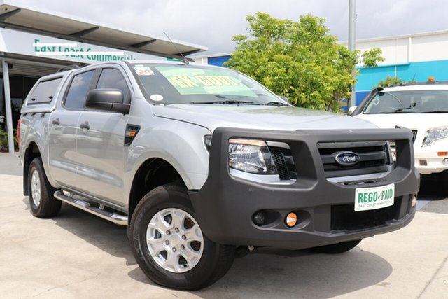 Used Ford Ranger PX XL Double Cab, 2014 Ford Ranger PX XL Double Cab Silver 6 speed Automatic Utility