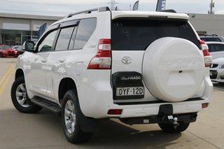 2016 Toyota Landcruiser Prado GDJ150R GXL Glacier White 6 Speed Sports Automatic Wagon.