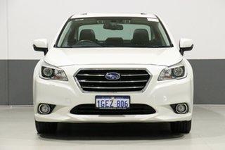 2017 Subaru Liberty MY17 3.6R Pearl White Continuous Variable Sedan.