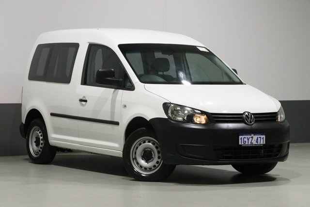 Used Volkswagen Caddy 2K MY13 TDI250, 2013 Volkswagen Caddy 2K MY13 TDI250 White 7 Speed Auto Direct Shift Van