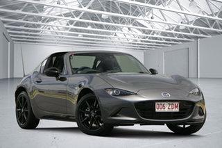 2019 Mazda MX-5 ND RF SKYACTIV-Drive Grey 6 Speed Sports Automatic Targa.