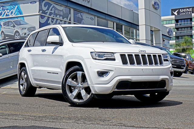 Used Jeep Grand Cherokee WK MY2014 Overland, 2013 Jeep Grand Cherokee WK MY2014 Overland White 8 Speed Sports Automatic Wagon