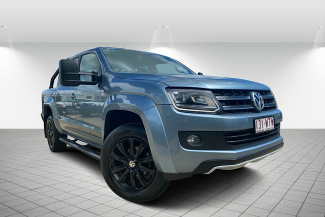 Used Volkswagen Amarok 2H MY16 TDI420 4MOTION Perm Atacama, 2016 Volkswagen Amarok 2H MY16 TDI420 4MOTION Perm Atacama Blue 8 Speed Automatic Utility