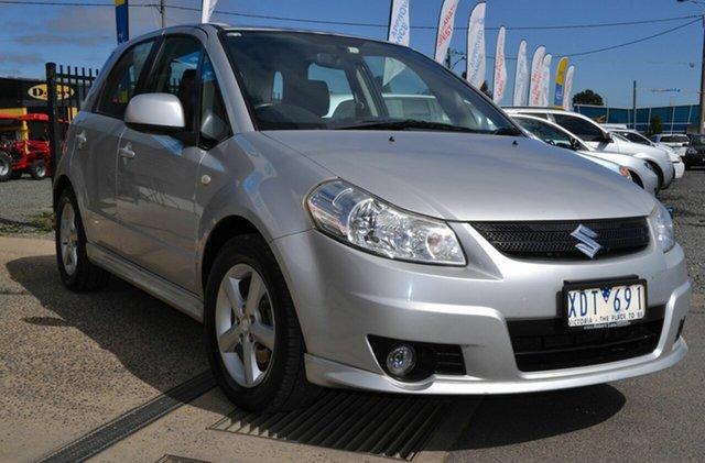 Used Suzuki SX4 GY AWD, 2009 Suzuki SX4 GY AWD Silver 4 Speed Automatic Hatchback