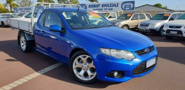 Used Ford Falcon FG MkII XR6 Ute Super Cab Limited Edition, 2012 Ford Falcon FG MkII XR6 Ute Super Cab Limited Edition Blue 6 Speed Manual Utility
