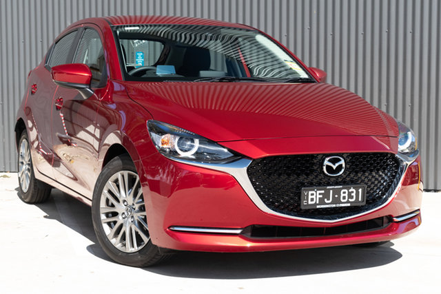 Demo Mazda 2 DJ2HAA G15 SKYACTIV-Drive Evolve, 2019 Mazda 2 DJ2HAA G15 SKYACTIV-Drive Evolve Soul Red Crystal 6 Speed Sports Automatic Hatchback