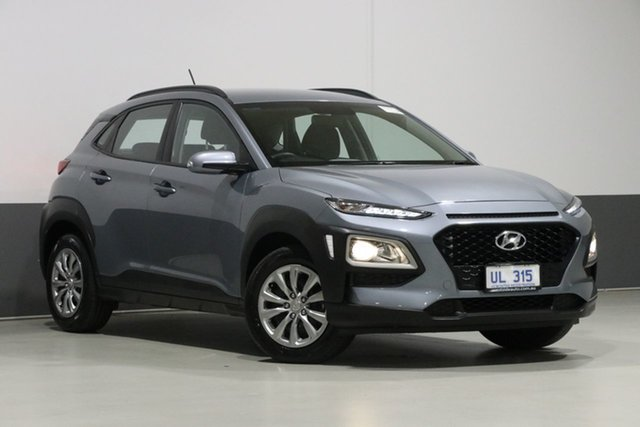 Used Hyundai Kona OS.2 MY19 GO (FWD), 2018 Hyundai Kona OS.2 MY19 GO (FWD) Grey 6 Speed Automatic Wagon