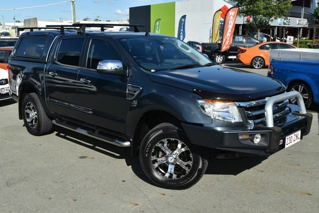 Used Ford Ranger PX XLT 3.2 (4x4), 2014 Ford Ranger PX XLT 3.2 (4x4) Grey 6 Speed Automatic Dual Cab Utility