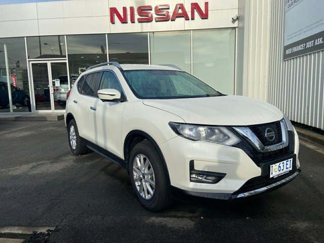 Demo Nissan X-Trail T32 Series II ST-L X-tronic 2WD Launceston, 2019 Nissan X-Trail T32 Series II ST-L X-tronic 2WD Ivory Pearl 7 Speed Constant Variable Wagon