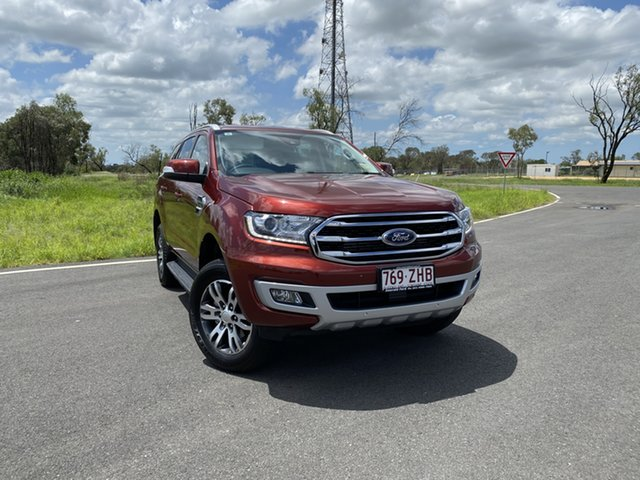 Used Ford Everest UA II 2019.00MY Trend 4WD, 2019 Ford Everest UA II 2019.00MY Trend 4WD Sunset 10 Speed Sports Automatic Wagon