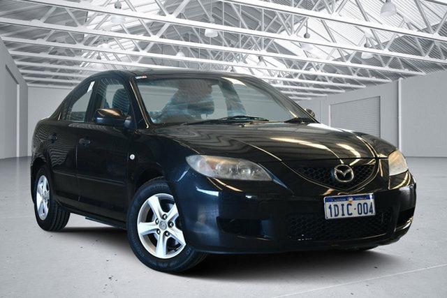 Used Mazda 3 BK MY06 Upgrade Neo, 2008 Mazda 3 BK MY06 Upgrade Neo Black Mica 4 Speed Auto Activematic Sedan