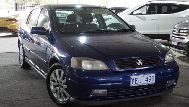 Used Holden Astra TS MY03 CDX, 2003 Holden Astra TS MY03 CDX Blue 5 Speed Manual Hatchback