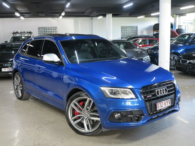 Used Audi SQ5 8R MY16 TDI Tiptronic Quattro, 2015 Audi SQ5 8R MY16 TDI Tiptronic Quattro Sepang Blue 8 Speed Sports Automatic Wagon