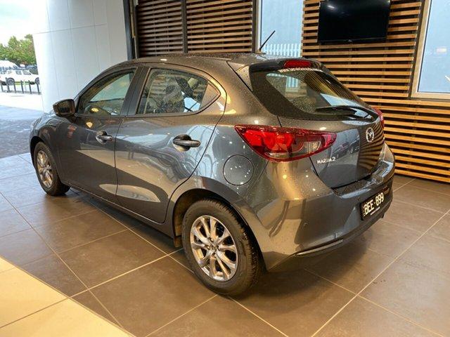 Demo Mazda 2 DJ G15 Pure, 2019 Mazda 2 DJ G15 Pure Machine Grey 6 Speed Automatic Hatchback