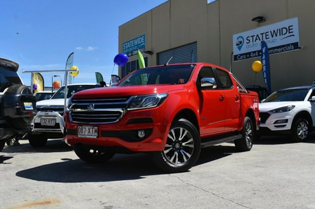 Used Holden Colorado RG MY17 LTZ (4x4), 2017 Holden Colorado RG MY17 LTZ (4x4) Red 6 Speed Automatic Crew Cab Pickup