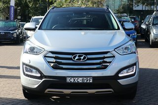 2015 Hyundai Santa Fe DM MY15 Highlander CRDi (4x4) Silver 6 Speed Automatic Wagon
