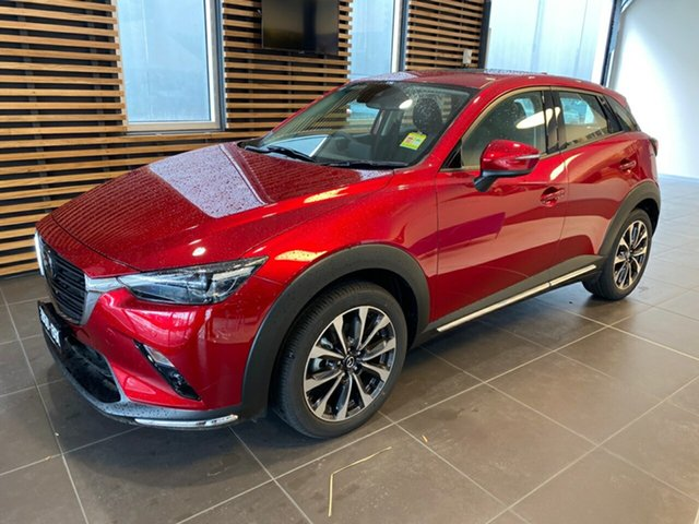 Demo Mazda CX-3 DK4W7A Akari SKYACTIV-Drive i-ACTIV AWD, 2019 Mazda CX-3 DK4W7A Akari SKYACTIV-Drive i-ACTIV AWD Soul Red Crystal 6 Speed Sports Automatic