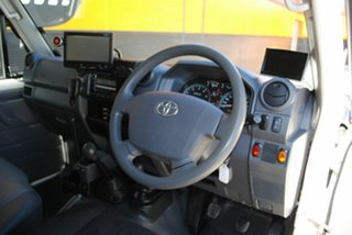 2010 Toyota Landcruiser VDJ79R MY10 Workmate French Vanilla 5 Speed Manual Cab Chassis