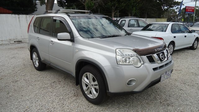 Used Nissan X-Trail T31 Series IV ST, 2011 Nissan X-Trail T31 Series IV ST Silver 6 Speed Manual Wagon