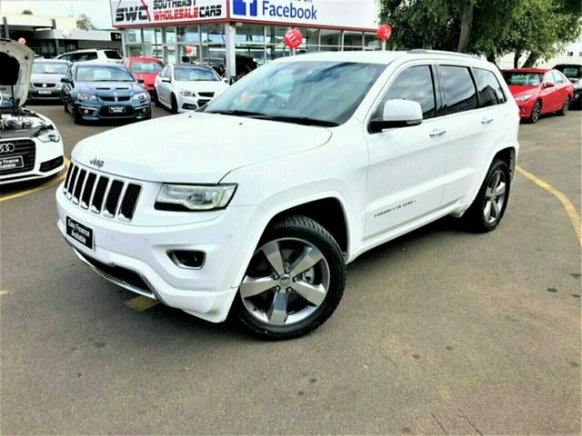 Used Jeep Grand Cherokee WK MY2014 Limited, 2013 Jeep Grand Cherokee WK MY2014 Limited White 8 Speed Sports Automatic Wagon