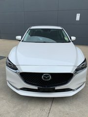 2019 Mazda 6 GL1033 Touring SKYACTIV-Drive Snowflake White 6 Speed Sports Automatic Sedan.