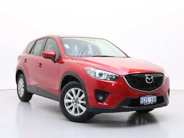 Used Mazda CX-5 MY13 Upgrade Maxx Sport (4x2), 2014 Mazda CX-5 MY13 Upgrade Maxx Sport (4x2) Red 6 Speed Automatic Wagon