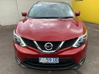 2017 Nissan Qashqai J11 TI Magnetic Red 1 Speed Constant Variable Wagon.