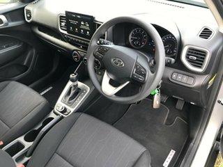 2019 Hyundai Venue QX MY20 Go Typhoon Silver 6 Speed Automatic Wagon.