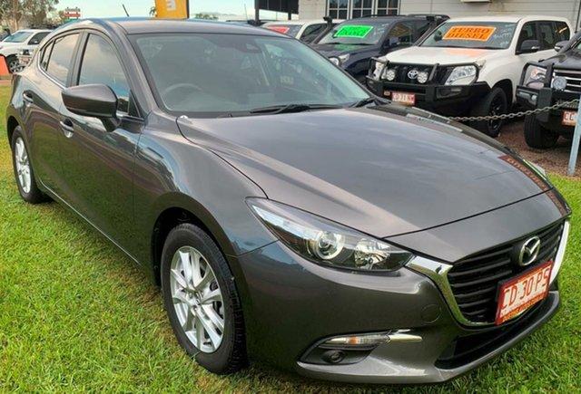 Used Mazda 3 BN5478 Maxx SKYACTIV-Drive Sport, 2018 Mazda 3 BN5478 Maxx SKYACTIV-Drive Sport Grey 6 Speed Sports Automatic Hatchback