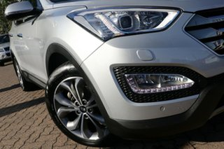 2015 Hyundai Santa Fe DM MY15 Highlander CRDi (4x4) Silver 6 Speed Automatic Wagon.
