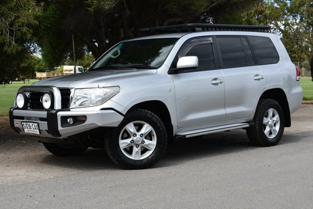 Used Toyota Landcruiser VDJ200R MY10 Altitude, 2011 Toyota Landcruiser VDJ200R MY10 Altitude Silver 6 Speed Sports Automatic Wagon